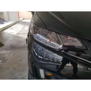 Headlight Tinting