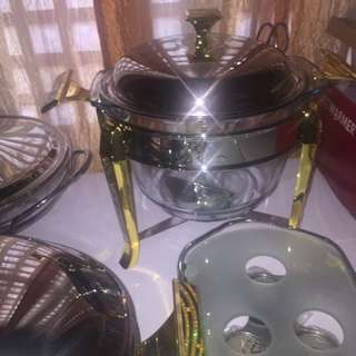 Chafing dishes FOR RENT