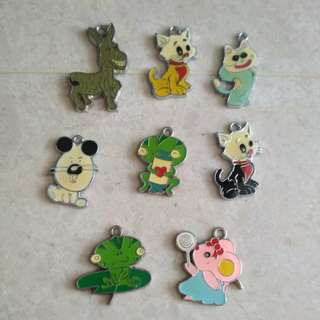 DIY accessories pendant hook - animal : dog, kitty, frog