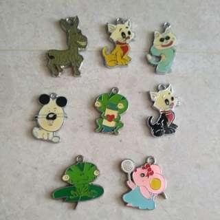DIY accessories pendant hook - animal : dog, kitty, frog