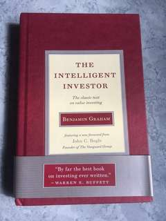 The Intelligent Investor hardcover