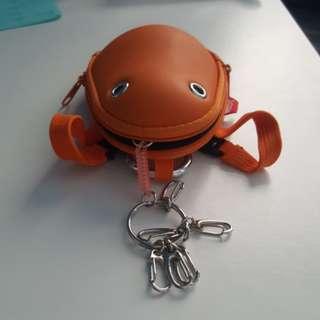 青蛙鎖匙包