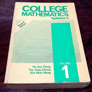 College Mathematics syllabus C volume 1