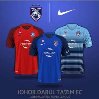 Johor Darul Ta'zim Authentic Jersey [BNWT]