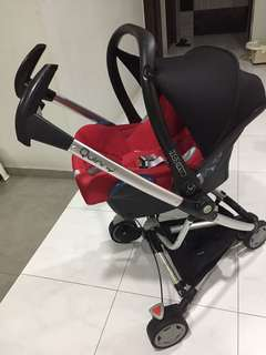 Quinny zapp with maxicosi infant car seat