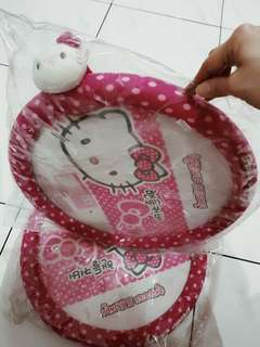Sarung setir Hello Kitty