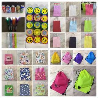 Wide range of Party Goodie/ Goody Bag for children