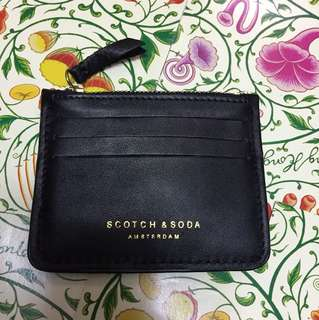 Scotch & Soda Coins Bag/Card Case