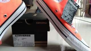 Sepatu Converse Allstar Hyper Orange