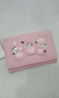 Hello Kitty Ribbon Pink Card Holder