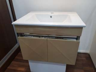 Basin Cabinet Set ( Stainless Steel Cabinet )