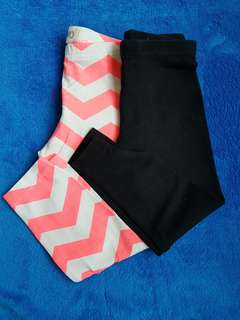 2pcs Cotton On Leggings