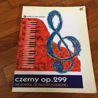 Czerny op. 299 the school of velocity complete