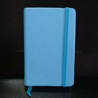 "Lined ""Moleskin-like"" Notebook"