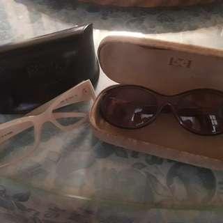 Lot of 2 branded eyewear preloved