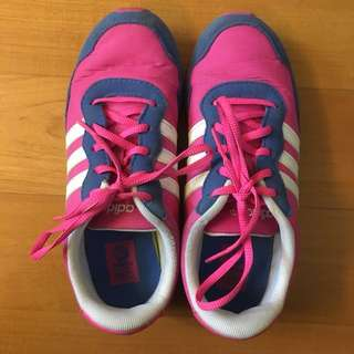 Addidas pink shoes