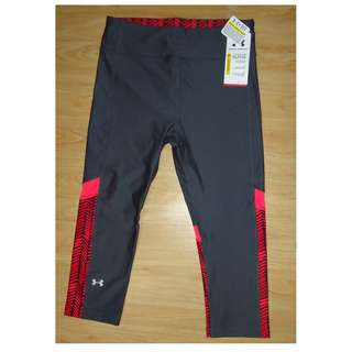 UNDERARMOUR Tights (Dark Gray and Pink <printed>)