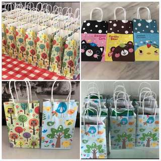 Party Supplies- Wide range of party goody paper bag