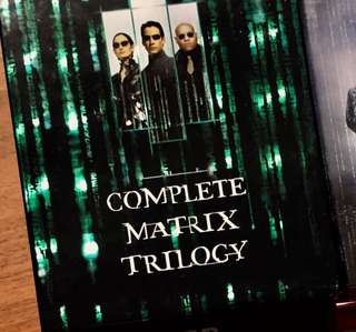 Matrix trilogy HD DVD