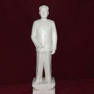 周恩来 - 中国总理白瓷立塑像