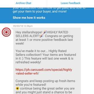 HIGHLY RATED SELLER!😍 THANK YOU! 💕