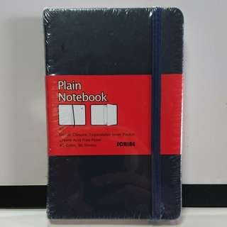 "Plain ""Moleskin-like"" Notebook"