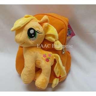 3D Pony Poney Cartoon Kid Backpack School Shopping Shoulder Ba