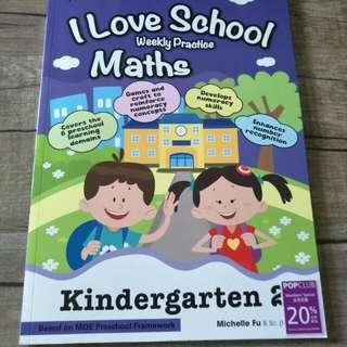 Maths Weekly Practice Kindergarten 2