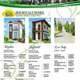 RCD Royal Homes Silang Metro Tagaytay