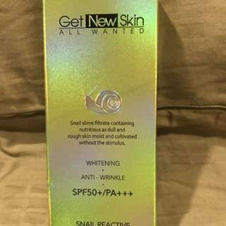 Get New Skin Snail Reactive BB cream