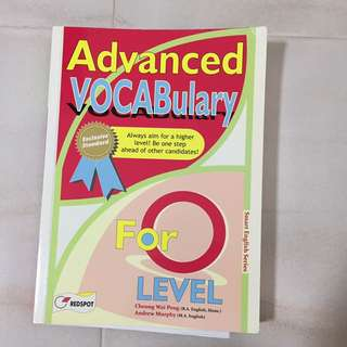 Advanced vocabulary book for o level