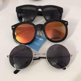 太陽眼鏡 $15 each