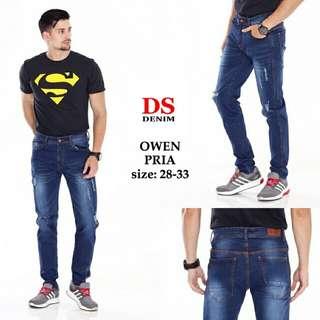 Owen Strech Jeans Pria