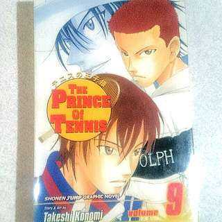 The Prince of Tennis Volume 9 Manga