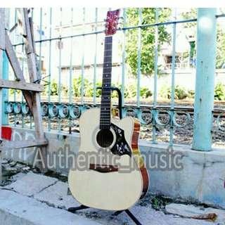 Gitar Akustik Yamaha F500 + Tas