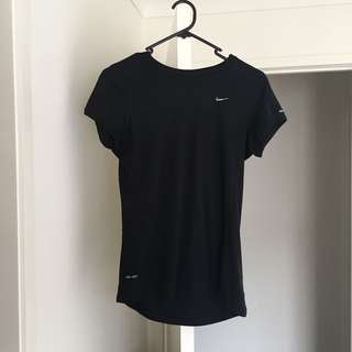 Nike Dri-fit Black T-shirt Top