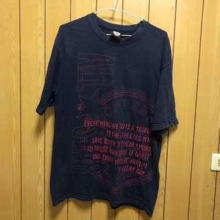 字母休閒T-shirt