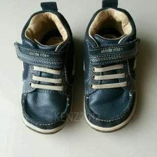 sepatu anak branded STRIDE RITE model boots second ,original leather
