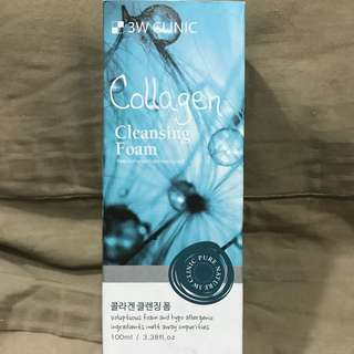 3W Clinic Collagen Cleansing Foam