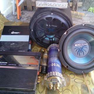 Soundstream Sub Woofer Set