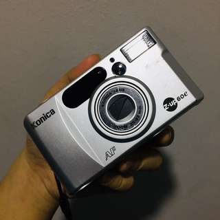 Konica 6e Z-up film camera
