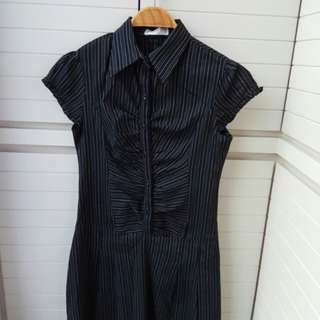 Dress hitam free size until L