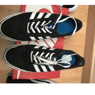 Adidas Adiease Skate BW size 11/45 not vans nike