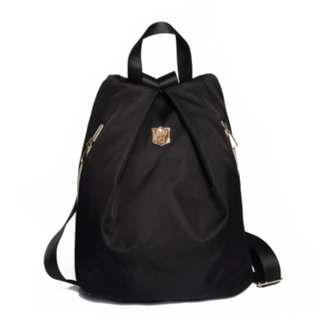 Lady light Nylon casual trendy backpack