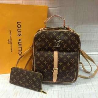 Louis Vuitton Backpack Set