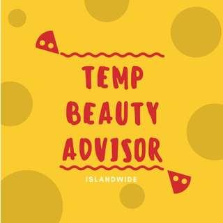 TEMP BEAUTY ADVISOR