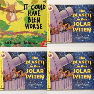 Bundling Buku Anak Impor It Could Have Been Worse dan The Planets in Our Solar System Read and Find Out Science Stage 2