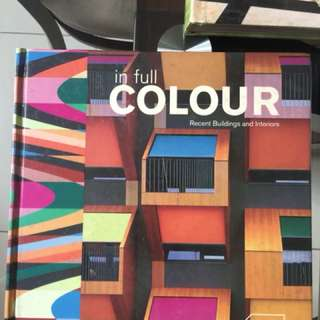 hardbound Interior design books