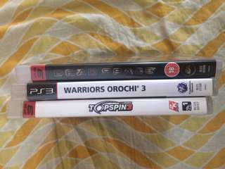 PS3 Games - Local Multiplayers