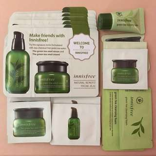 ❗️FREE NM❗️Innisfree Green Tea Bundles